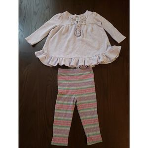 Ralph Lauren Baby Girl's Tunic & Legging Set